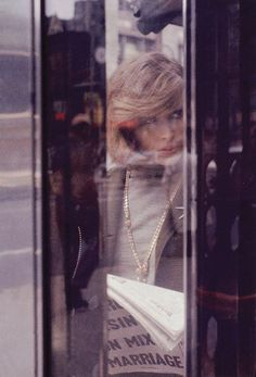 Saul Leiter, Pigment Print, Soames c. 1958, 8.5x11 inches