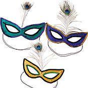 French Quarter Sequin Masks