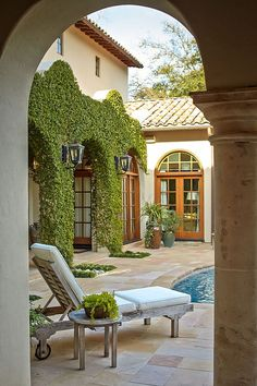 Interior courtyard ideas.