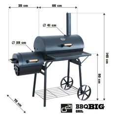 Build A Smoker, Bbq Pit Smoker, Barbecue Smoker, Grilling, Barrel Bbq, Charcoal Bbq Grill, Bbq Steak, Offset Smoker, Outdoor Oven