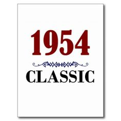 >>>Low Price          Classic 1954 60th Birthday Gifts Post Cards           Classic 1954 60th Birthday Gifts Post Cards so please read the important details before your purchasing anyway here is the best buyHow to          Classic 1954 60th Birthday Gifts Post Cards Review from Associated S...Cleck Hot Deals >>> http://www.zazzle.com/classic_1954_60th_birthday_gifts_post_cards-239911606508596326?rf=238627982471231924&zbar=1&tc=terrest