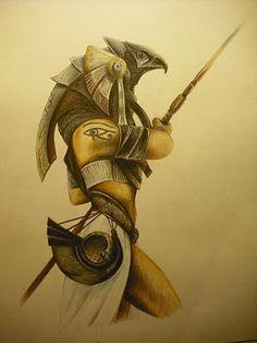 horus dibujos egipcios - Buscar con Google