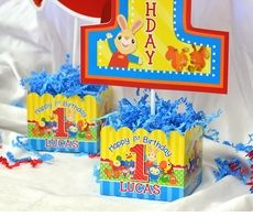 BabyFirst Birthday Party Personalized Table Centerpiece