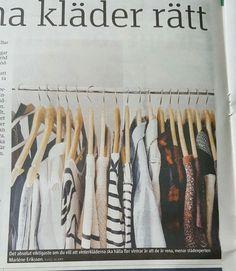 Vilka kläder har du i garderoben? Hur tar du hand om dem? Vilka konsekvenser får det?  #Förvara #Kläder #Tips
