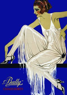 Vintage Shoes 1920s Flapper Posters and Prints