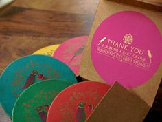 Thank you gifts as coasters