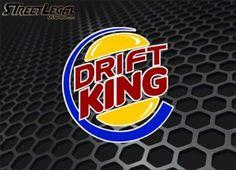 """Drift King 5"""" Vinyl Sticker"""
