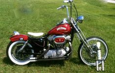 Harley Davidson Sportster Chopper Bobber Old School