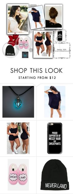 """""""aphrodisa"""" by dorochenybrice on Polyvore featuring Komar, Sunset Hours, By Emily, Casetify, Disney and cutie"""