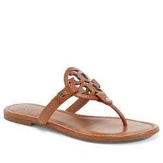 Women's Tory Burch 'Miller' Flip Flop, Size 9.5 M - Brown