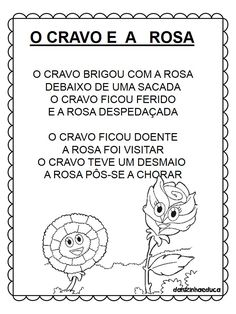 Cantigas de roda para leitura English Lessons, Kindergarten Activities, Homeschool, Education, Reading, Blog, Kids, Fictional Characters, Carnations