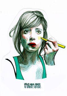 Paula Bonet fashion illustration #Fashionaryhand #Fashionillustration #PaulaBonet