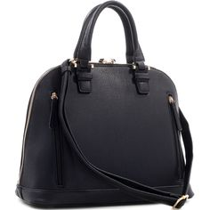 Concealed Carry Ambidextrous Classic Deep Satchel Purse w/ Holster | The Wanted Wardrobe Boutique