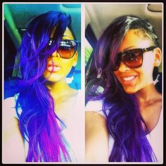 Meagan Good Gets Bright In Purple... Yassss girl!! She did that!! LOVE!!