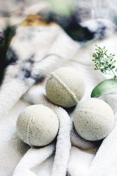 DIY Post-Gym Bath Bombs #ontheblog