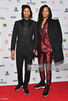 Les Twins attends the 45th International Emmy Awards at New York Hilton on November 20, 2017 in New York City.