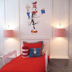 Love the lamps for my future baby's dr. seuss room!