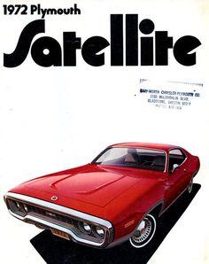 """frenchcurious: """" Publicité Plymouth Satellite 1972 - Collectible Automobile Magazine. """""""