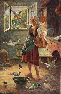 Illustration - Conte de  Perrault