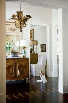 Make Antiques the Focal Points - Calm, Classic Southern Home - Southernliving. Another way Mia simplifies each room is by limiting the…