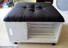 I love crafts. I love DIY. My biggest DIY crush? Furniture redoing/making. I can't get enough. It takes every fiber of my being to k...
