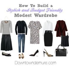How to Build a Stylish & Affordable Modest Wardrobe