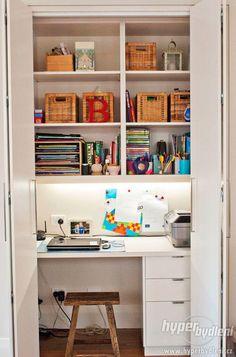 malá pracovna ve skříni - Hledat Googlem