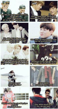 Suho and Kris shared the biggest responsibility to take care of Exo, either way #wesupportyouKris #exol #weareone
