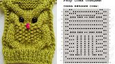 Photo Eule stricken Learn the fact (generic term) of how to needlework (generic term), starting at t Crochet Video, Free Crochet, Knit Crochet, Tutorial Crochet, Owl Knitting Pattern, Knitted Owl, Crochet Supplies, Crochet Baby Hats, Knitting For Kids