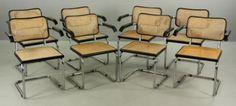 Set-of-Eight-Breuer-Cesca-Chairs-Lot-7334