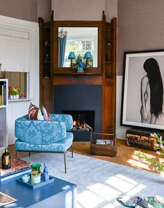 Neutraal Interieur Met Vloerkleed In Kleur   Stock Interiors   Residence  #TEFAF #ResidenceNL #Stocku2026 | Wonen | Inspiratie By UWwoonmagazine | Pinteu2026