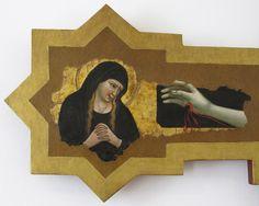 Scuola riminese - Crocifisso Spina, dettaglio - 1370 ca. - Museo della Città di Rimini
