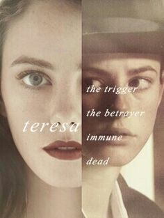 Teresa dead.. I might as well be dead too:'(