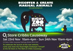 We will be running an event in Bristol's The Mall at Cribbs Causeway this weekend. We plan to hold creative workshops and give children the chance to design their own animals and have their faces painted in the style of their creations. Parents and children in attendance will also have the opportunity to try our apps and website using tablet devices provided by the O2 store in the Mall.