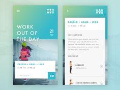 MOM WOD App by Dustin Haver - Dribbble