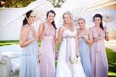 Pretty Pastel Bridesmaid Dresses www.wisteria-avenue.co.uk
