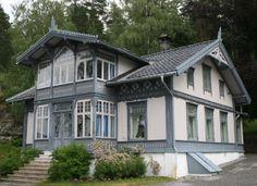 Roald Amundsen's house (the Norwegian polar explorer).