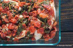 Slow Cooker Tomato Balsamic Chicken