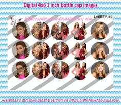 """1"""" Bottle Caps (4X6) F163 sam & cat tv show celebrities bottle cap images #celebrities #bottlecap #BCI #shrinkydinkimages #bowcenters #hairbows #bowmaking #ironon #printables #printyourself #digitaltransfer #doityourself #transfer #ribbongraphics #ribbon #shirtprint #tshirt #digitalart #diy #digital #graphicdesign please purchase via link http://craftinheavenboutique.com/index.php?main_page=index&cPath=323_533_42_60"""