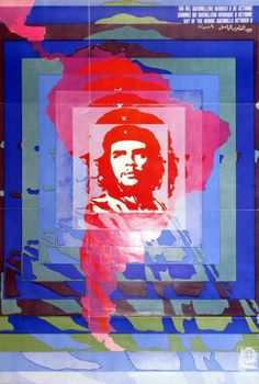 Day of the Heroic Guerrilla October by Elena Serrano, 1968 (© gift of OSPAAAL, Museum of Modern Art, New York / Scala, Florence) Native American History, British History, Art History, Ancient History, Che Guevara, Design Observer, Psychedelic Colors, Rare Images, Article Design