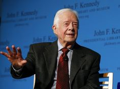 """The Washington Post Former president Jimmy Carter said that the cancer doctors discovered earlier this year, on his liver, has spread to his brain and that he will receive his first radiation treatment for the disease Thursday afternoon.  """"I'm perfectly at ease with whatever comes,"""" Carter said at a news conference.  Carter, 90, said Thursday that doctors found """"four spots of melanoma on my brain -- small spots"""" after first discovering cancer during an Aug. 3 operation to remove a tumor from…"""
