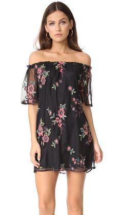 BB Dakota Lacole Off Shoulder Dress