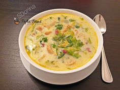 Romanian Food, Cheeseburger Chowder, Food And Drink, Soup, Recipes, Salads, Recipies, Soups, Ripped Recipes