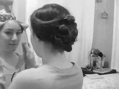 lady mary downton abbey hair tutorial.