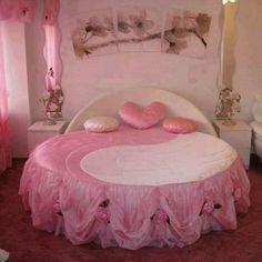 Stylishly romantic pink bedroom furniture set ~ Stylishly Home Interior Designs Pink Bedrooms, Teenage Girl Bedrooms, Girls Bedroom, Modern Bedrooms, Modern Bedding, Shabby Chic Furniture, Bedroom Furniture, Bedroom Decor, Bedroom Ideas