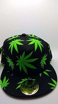 Glow in the dark weed design caps Cool design-be the most unique and  trendies 46b51b3680a2