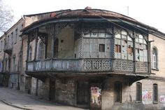Balconies, Old Town, Tbilisi. I took this very photo too!