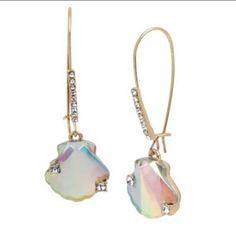 Betsey Johnson Seashell Drop Earrings   Mercari Betsey Johnson, Wire Earrings, Drop Earrings, Latest Fashion Design, Sea Shells, Fashion Accessories, Women Jewelry, Stone, Dress Boutiques