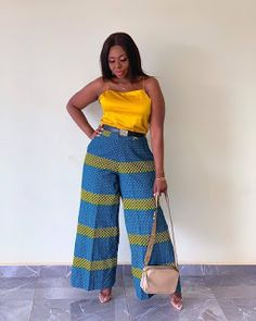 40 Latest African Fashion Dresses 2019 : Styles to Look Cool and Fashionable African Print Jumpsuit, African Print Dresses, African Print Fashion, African Dress, African Inspired Clothing, African Attire, African Wear, Skirt Fashion, Fashion Outfits