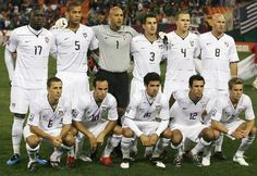 American National Soccer Team . (What year is this?)
